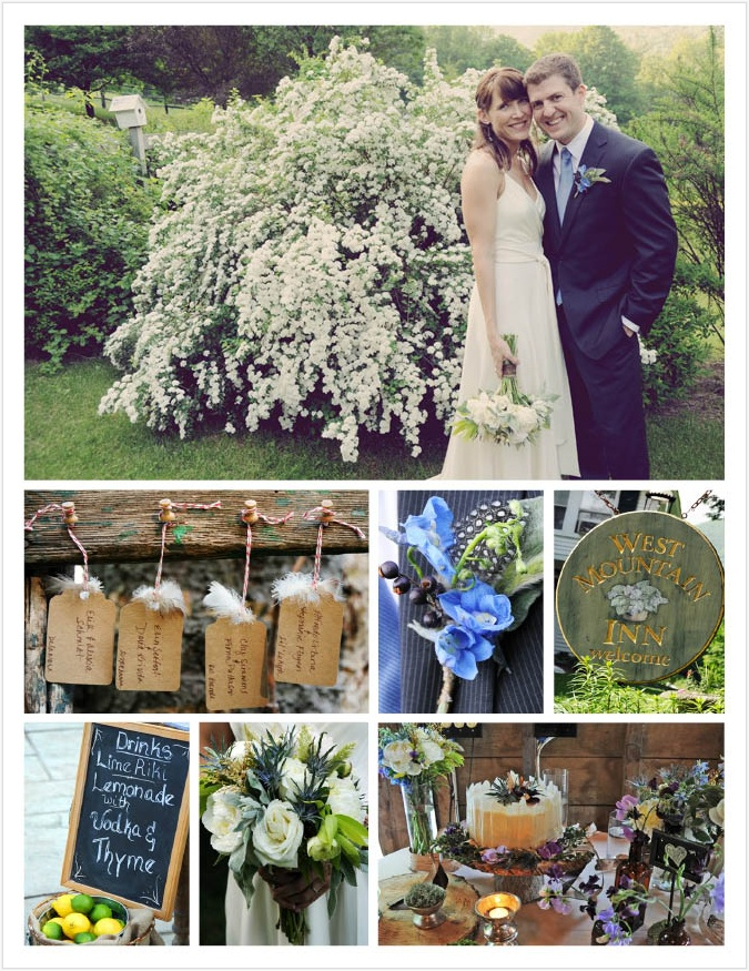 laura amp trevor�s wedding featured on vt vows real